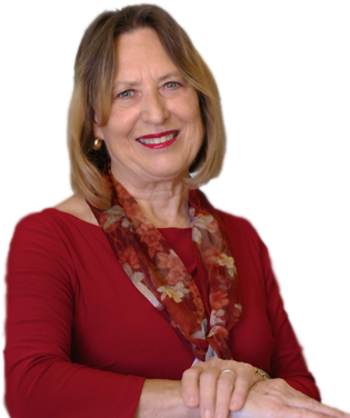Picture of Dr. Karen Gless smiling with one arm on the table