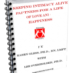 Dr. Karen Gless ebook Keeping Intimacy alive Partners for a life of love and happiness cover